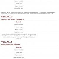 Wine Specator 2012