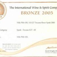 wine and spirit syrah 03G