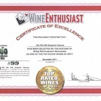wine enthusiast 2012